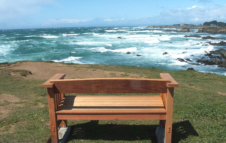 Taylor's Memorial Bench 3