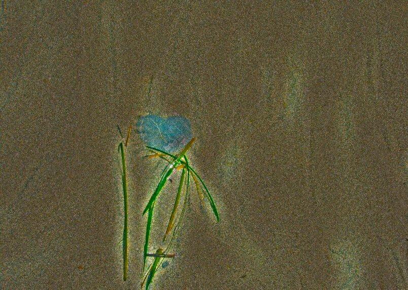 Blue Heart Stone2